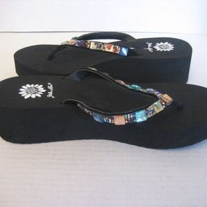 9f6a4980a Yellow Box Shoes - Yellow Box Sabbi Multi Color Rhinestone Sandal Sz8